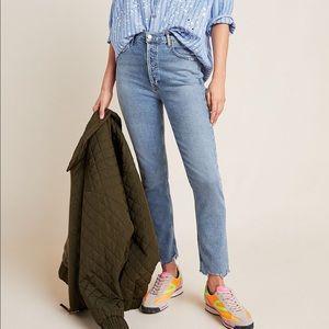 AGOLDE Nico Ultra High-Rise Slim Jeans NWT 31